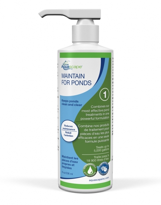 maintain for ponds