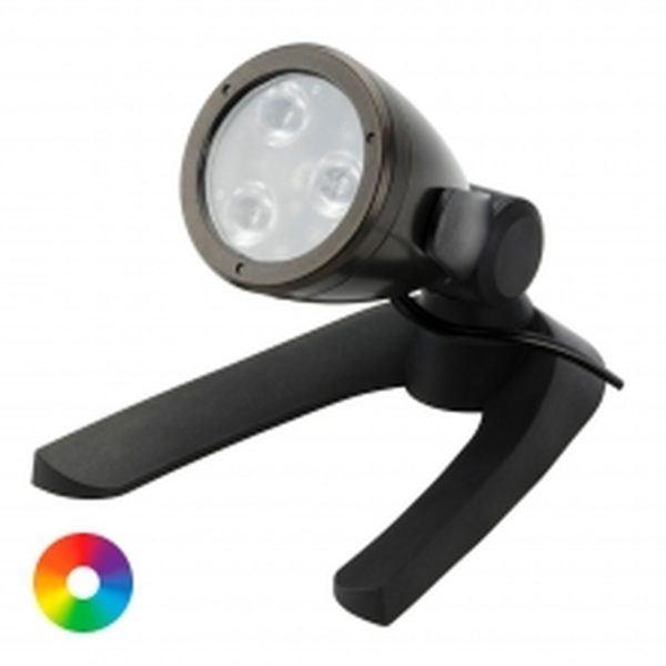 led colour changing spotlight