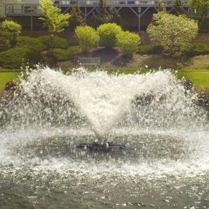 Aerating Fountain saturn